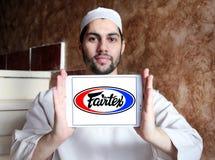 Logo för Fairtex klädmärke Royaltyfria Bilder