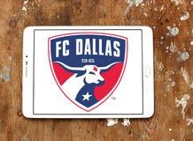 Logo för FC Dallas Soccer Club royaltyfri fotografi