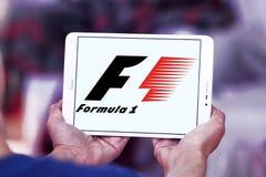 Logo för formel en Arkivfoton