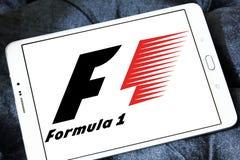 Logo för formel en Royaltyfria Bilder