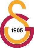 Logo för Galatasaray sporkulubu Royaltyfri Bild