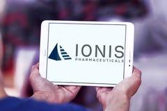 Logo för Ionis läkemedelföretag arkivbild
