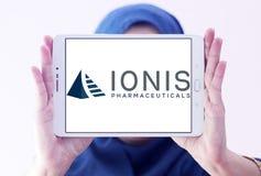 Logo för Ionis läkemedelföretag fotografering för bildbyråer