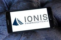 Logo för Ionis läkemedelföretag arkivfoto