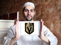 Logo för lag för Vegas guld- riddareishockey Royaltyfri Fotografi