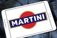 Logo för Martini vermutmärke Fotografering för Bildbyråer