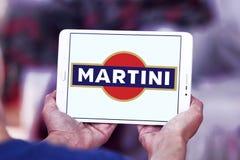 Logo för Martini vermutmärke Arkivfoto