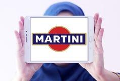 Logo för Martini vermutmärke Royaltyfri Fotografi