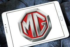 Logo för MG motorföretag Royaltyfri Fotografi
