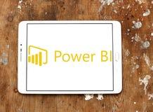 Logo för Microsoft maktBI fotografering för bildbyråer