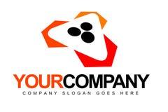 Logo för pölbollar Arkivbilder