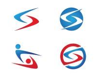 Logo för s-bokstavsfinans Arkivfoton