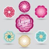 Logo för skönhetsalong Royaltyfri Foto