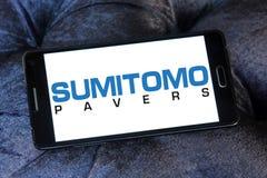 Logo för Sumitomo konstruktionsmaskineri Arkivbilder