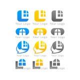 Logo för symbol för affärsmärkesfläckar Royaltyfri Bild