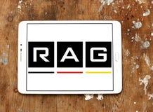 Logo för TRASAcoalminingkorporation royaltyfri fotografi