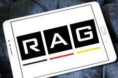 Logo för TRASAcoalminingkorporation royaltyfri bild