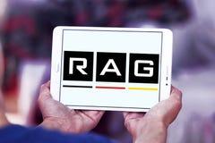 Logo för TRASAcoalminingkorporation royaltyfria bilder