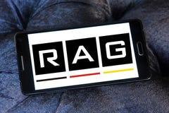 Logo för TRASAcoalminingkorporation royaltyfria foton