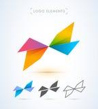 Logo för vektorabstrakt begreppbokstav X Royaltyfri Foto
