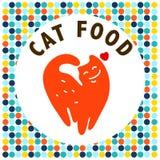 Logo för vektorlägenhethusdjur Royaltyfri Foto