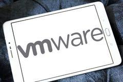 Logo för VMware datorprogramvaraföretag Arkivfoton