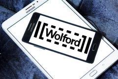 Logo för Wolford klädmärke arkivfoto