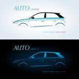 Logo für Automobilunternehmen vektor abbildung