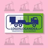 Logo für den Ölkonzern Lizenzfreie Stockbilder