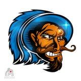 Logo für irgendwelche Sportteam musketrys lizenzfreie abbildung