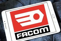 FACOM tools company logo. Logo of FACOM tools company on samsung tablet Royalty Free Stock Photo
