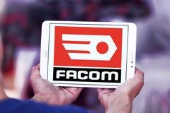 FACOM tools company logo. Logo of FACOM tools company on samsung tablet Stock Photography