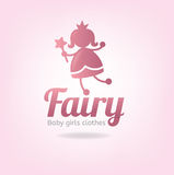 Logo fairy Royalty Free Stock Photography