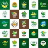 Logo farm food Royalty Free Stock Image