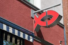 logo of a fast food branch in Germany