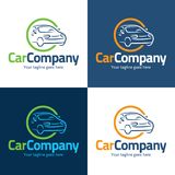 Car Company Logo and Icon - Vector Illustration Royalty Free Stock Photos