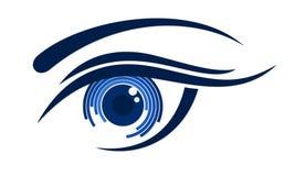 Logo female eye. The Logo of female eye Royalty Free Stock Image