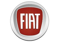Logo Fiat 2006. Car color vector format aviable ai Stock Illustration