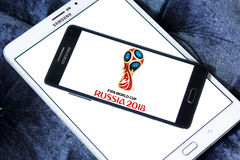 FIFA World Cup Russia 2018 logo Royalty Free Stock Images