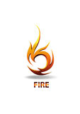 LOGO_FIRE Stock Afbeelding