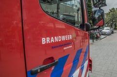 Logo Fire Department Amsterdam The Países Baixos fotos de stock royalty free