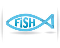 Logo fish Royalty Free Stock Photography