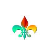 Logo Fleur de Lis Lizenzfreie Stockfotografie