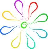 logo floral Stock Photos