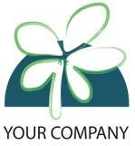 Logo flower Stock Image