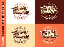 Logo of food truck Stock Photos