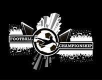 Logo Football Championship Foto de archivo libre de regalías