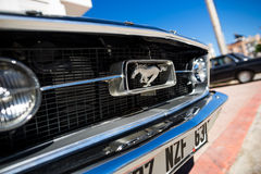 Logo of 1967 Ford Mustang GT Royalty Free Stock Image