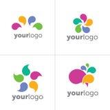 Logo Forms contemporáneo Fotos de archivo libres de regalías