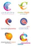 Logo för bokstav C Royaltyfri Foto